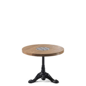 Table basse en chêne diamètre 60 cm